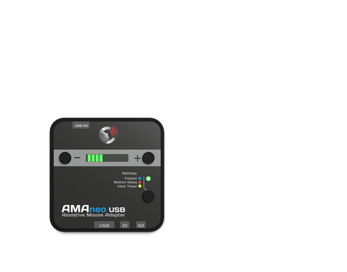 AMAneo USB Aufreihung