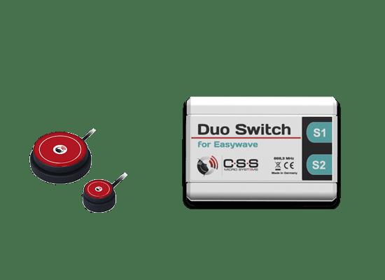 Duo Switch mit Tastern
