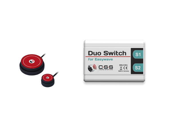 Duo Switch mit Tastern