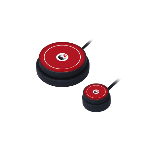 Kajo button CSS Microsystems Logo rot