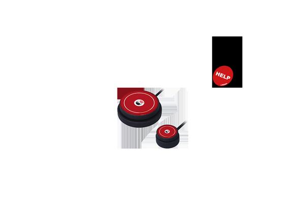 Kajo button and button