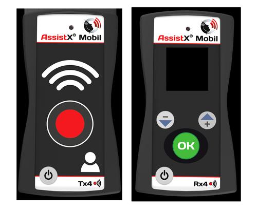AssistX Mobil RX4 TX4 Frontalansicht OFF