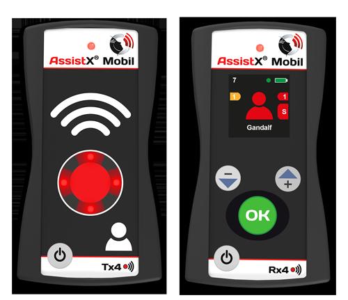 AssistX Mobil RX4 TX4 Frontalansicht